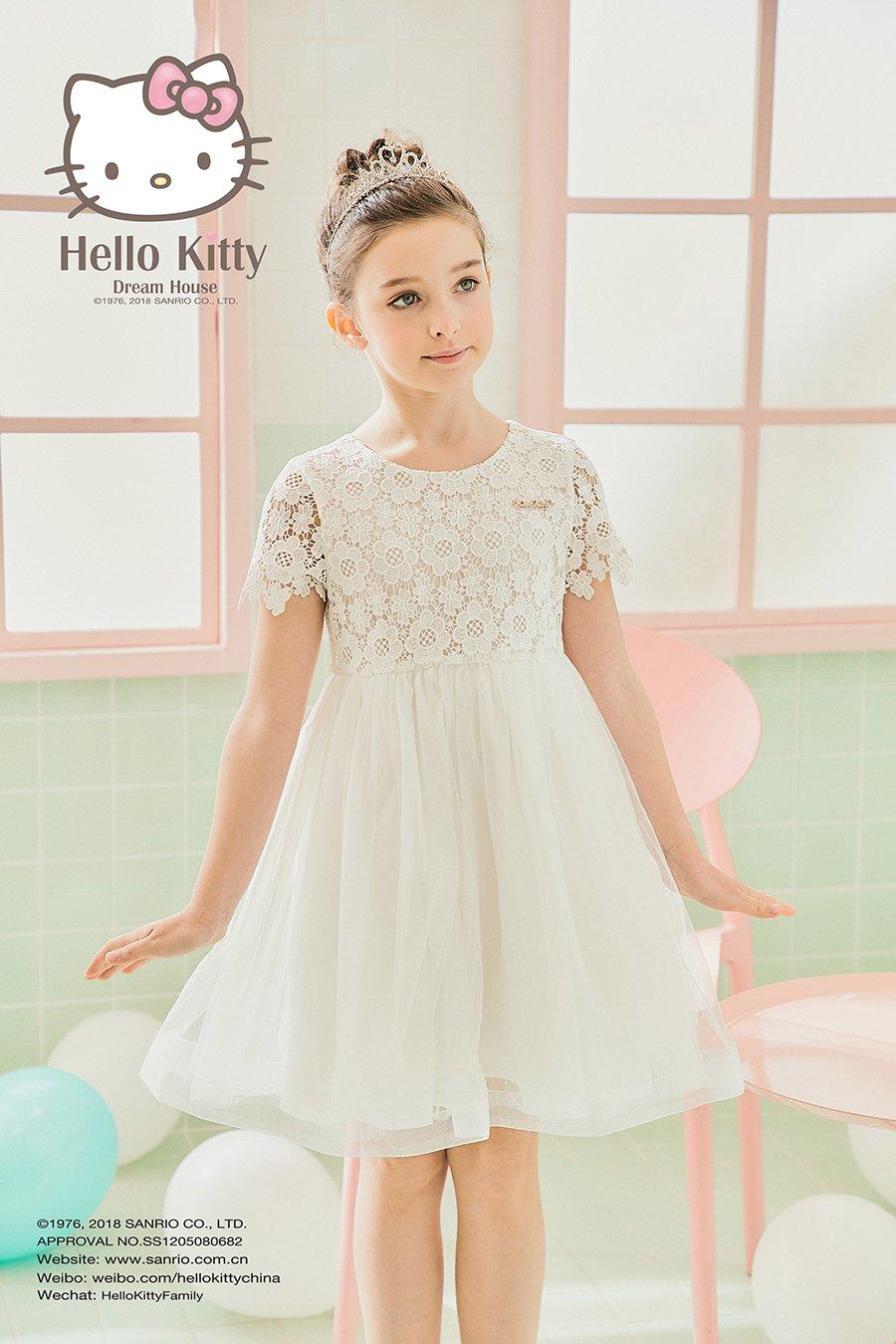 2018SS女童无袖连衣裙K181721